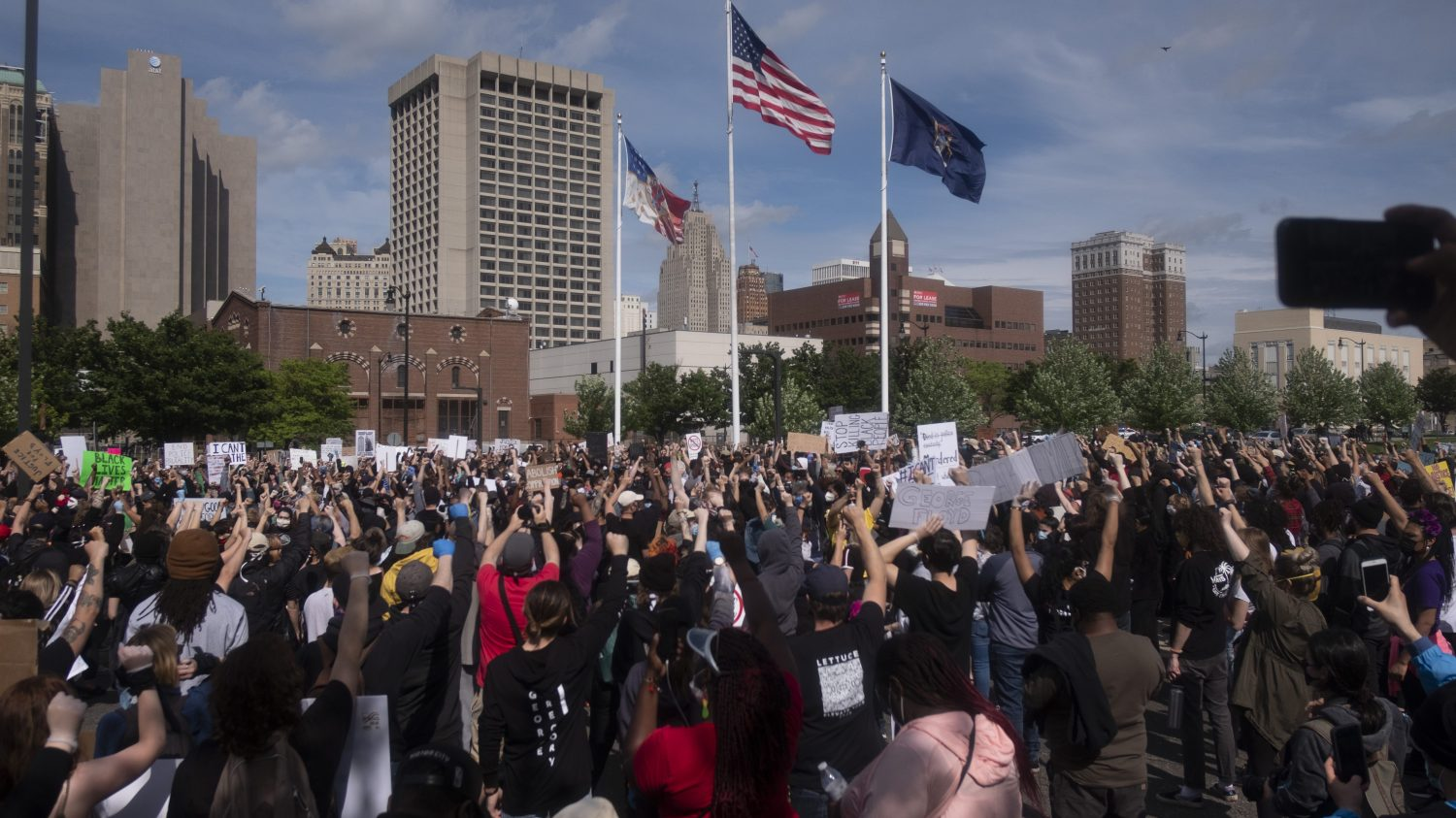 Feds Say Agents in Detroit Will Help Fight Crime Not Arrest Protesters