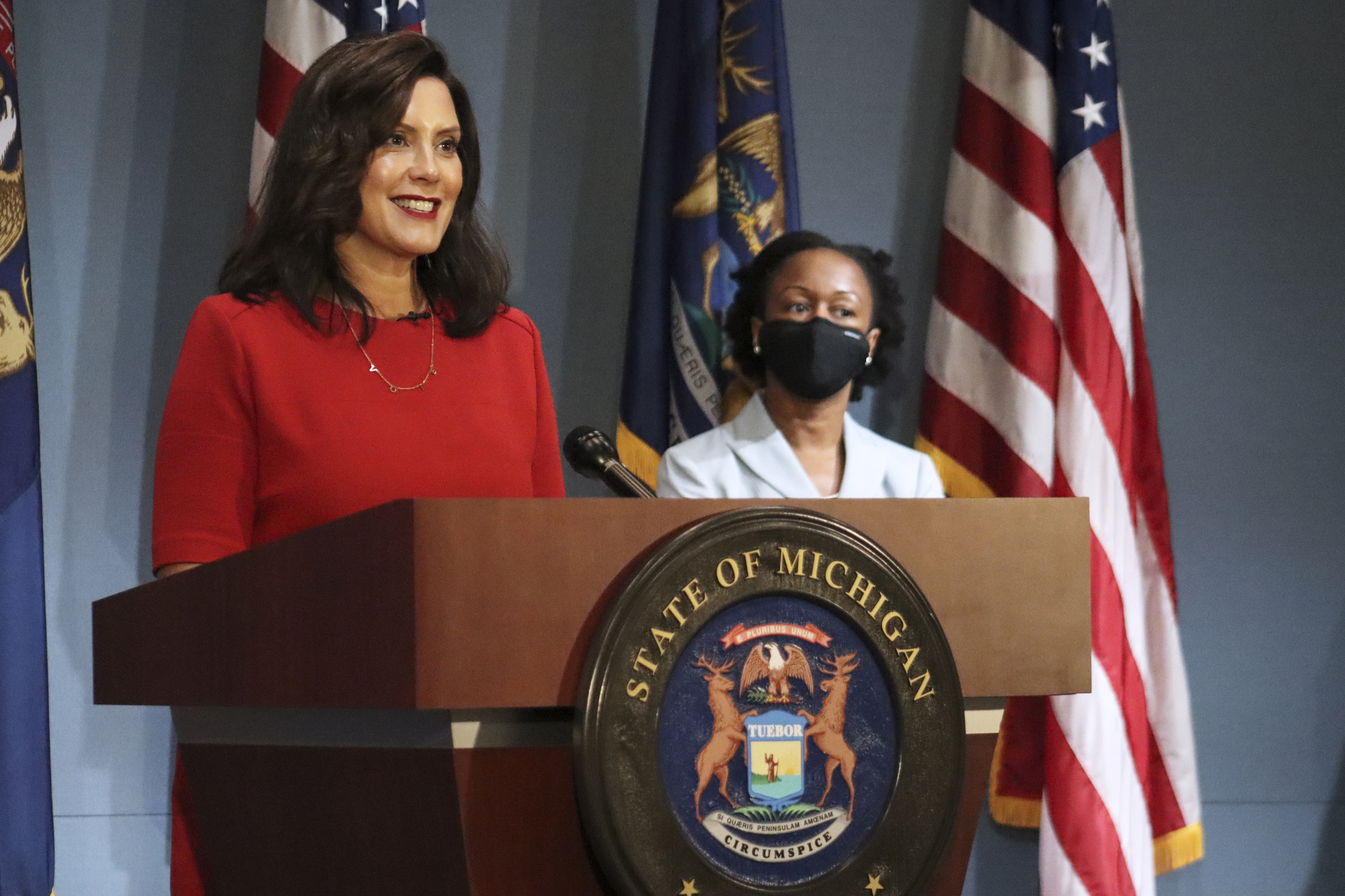 Missed Gov Whitmer S Press Conference Here S Her Update On The State S Response To Covid 19 Cw50 Detroit