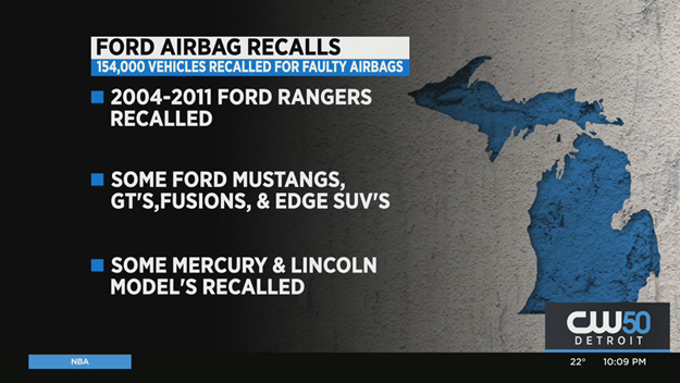 Ford Expands Airbag Recall to 154,000 More Cars