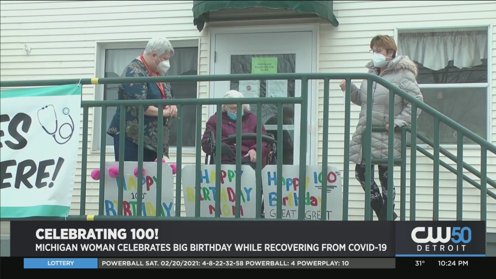 Alpena Woman, Margaret Suszek, Celebrates 100th and Recovery From COVID-19