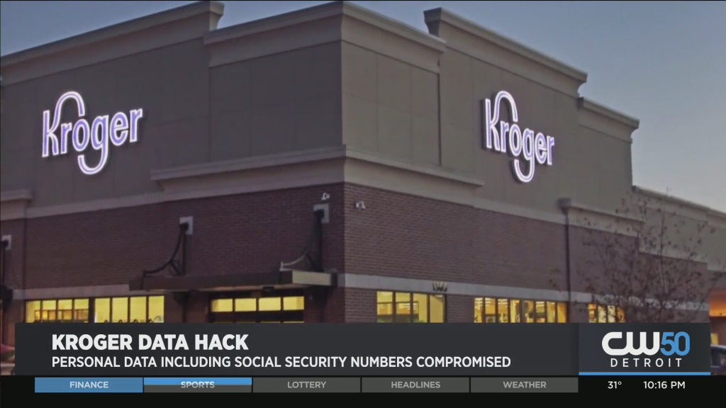 Kroger Warns Customers Personal Information Was Stolen From Pharmacy Database