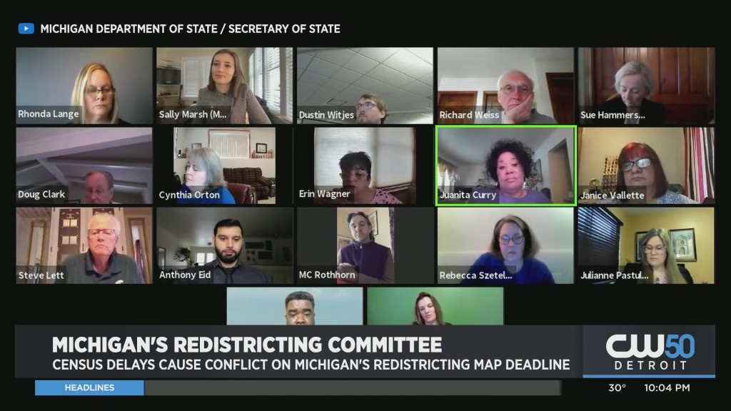 Census Data Delays Are Causing Redistricting Efforts in Michigan