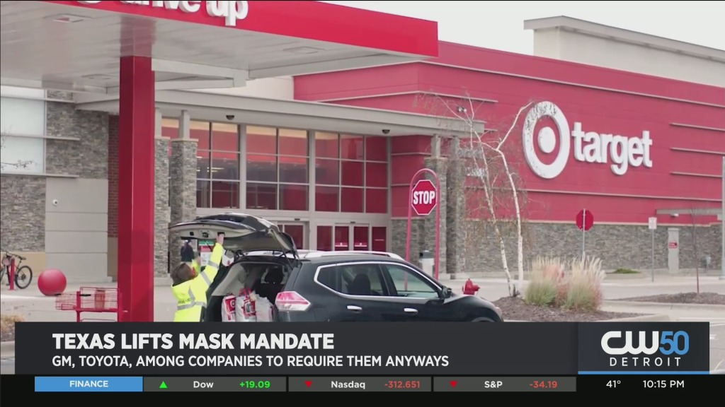 GM, Toyota, Target, and Others Say They Will Still Enforce Mask-Wearing In Texas