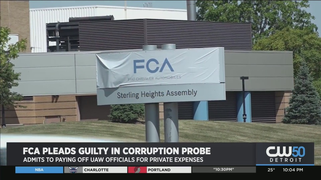 Fiat Chrysler Ordered To Pay $30M in FCA/ UAW Bribe Corruption Probe