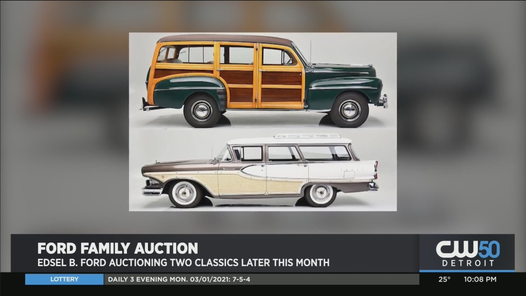 Ford Family Putting Up Two Classic Cars
