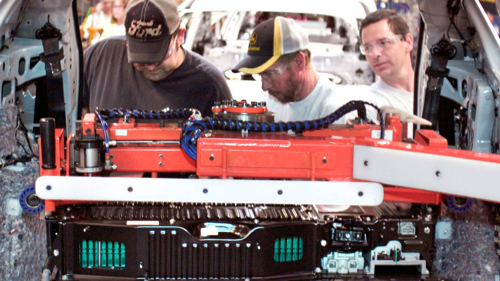 Ford Plans To Develop, Produce Electric Vehicle Batteries