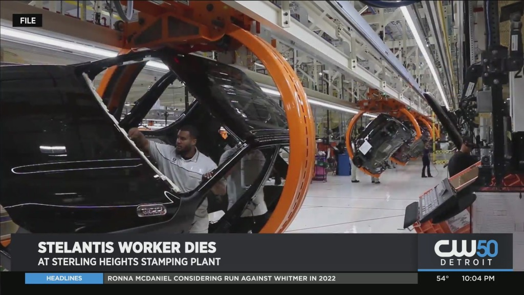 Stellantis Worker in Sterling Heights Died on the Job Wednesday