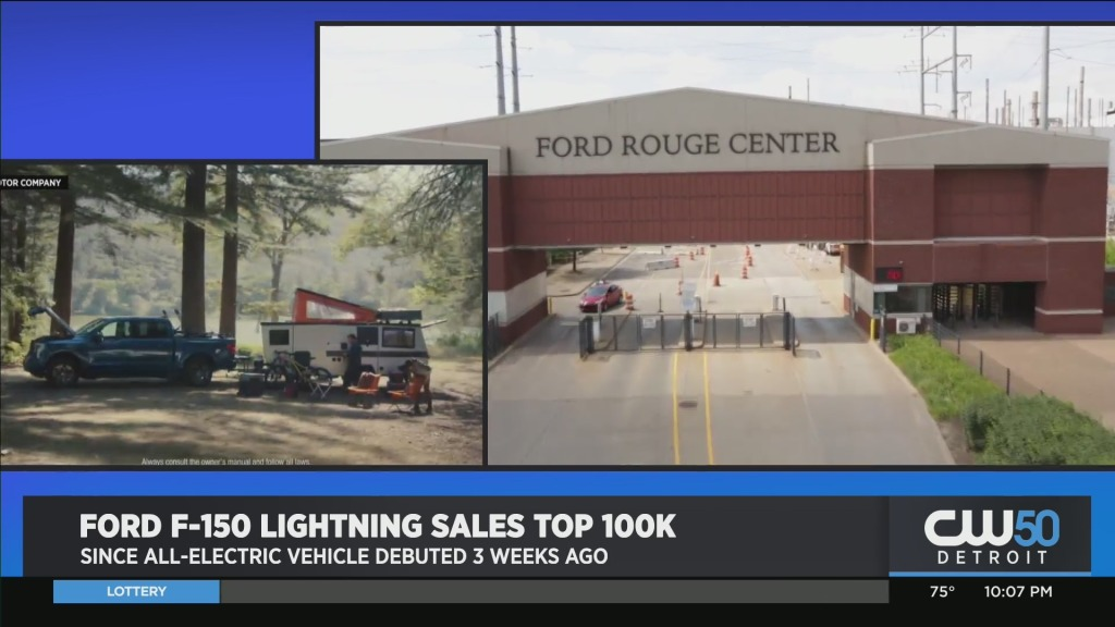 Preorders For Ford Electric F-150 Lightning Tops 100,000