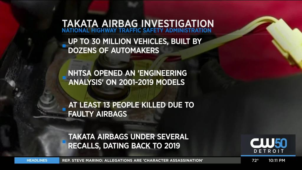 Ford, One of Many Automakers Under Investigation Over Use of Recalled Takata Airbag Inflators