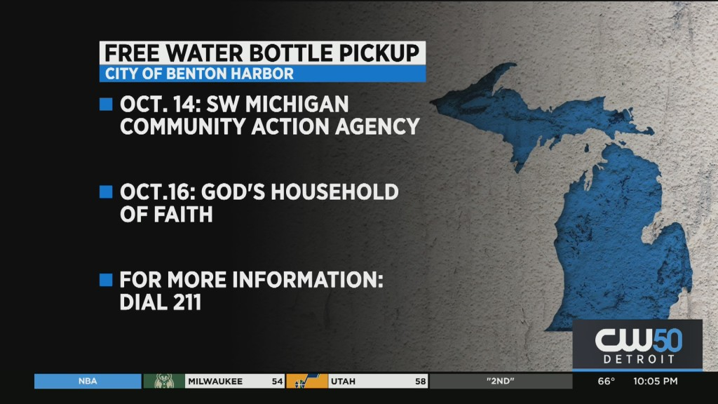 Bottled Water, Other Resources Available For Benton Harbor Residents Amid Water Crisis
